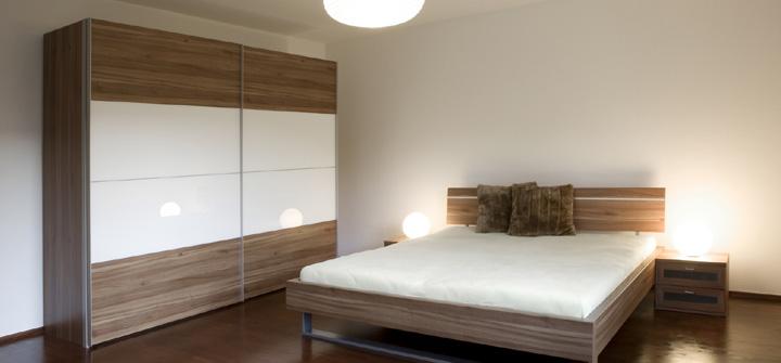 Comfortable Bedroom from Garage