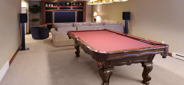 Want a new game room? Turn your garage into a game room.