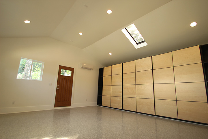 Turn your old garage into a nice newly remodeled room.