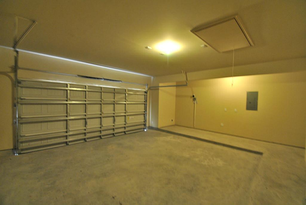 The first step in any garage project is to empty the garage of all contents.