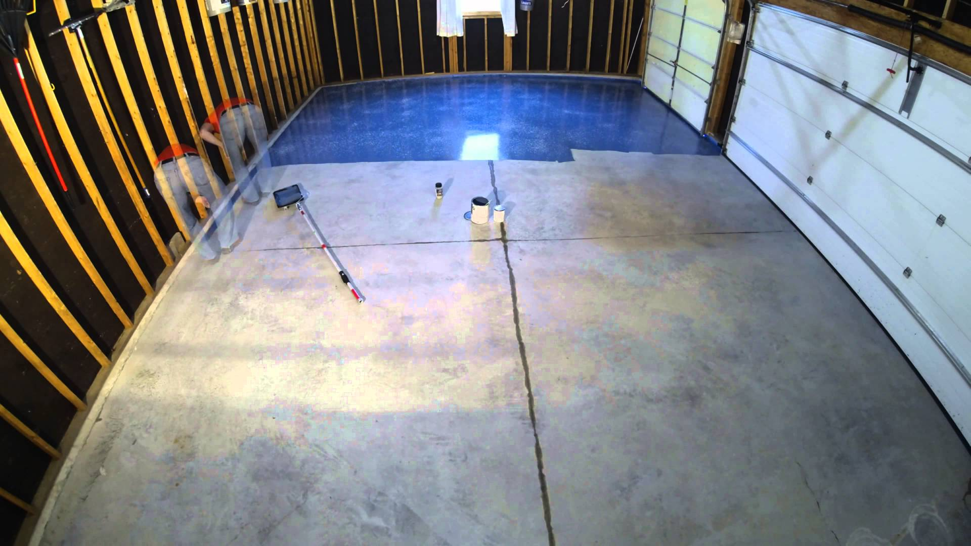 Most people don't just want a plain, matte concrete floor for their garage. Luckily there are a wide array of choices! Whether you go with a durable epoxy coating, opt for rubber mats, go with hardwood flooring, or carpeting (for conversions), or even an acid stain, your garage floor can really define your garage style