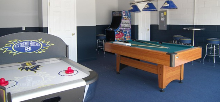 Garage Game Room - Garage games room ideas