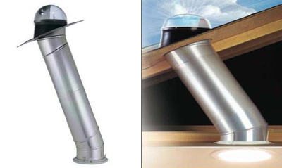 A solar tube will enhance any garage conversion or garage remodel